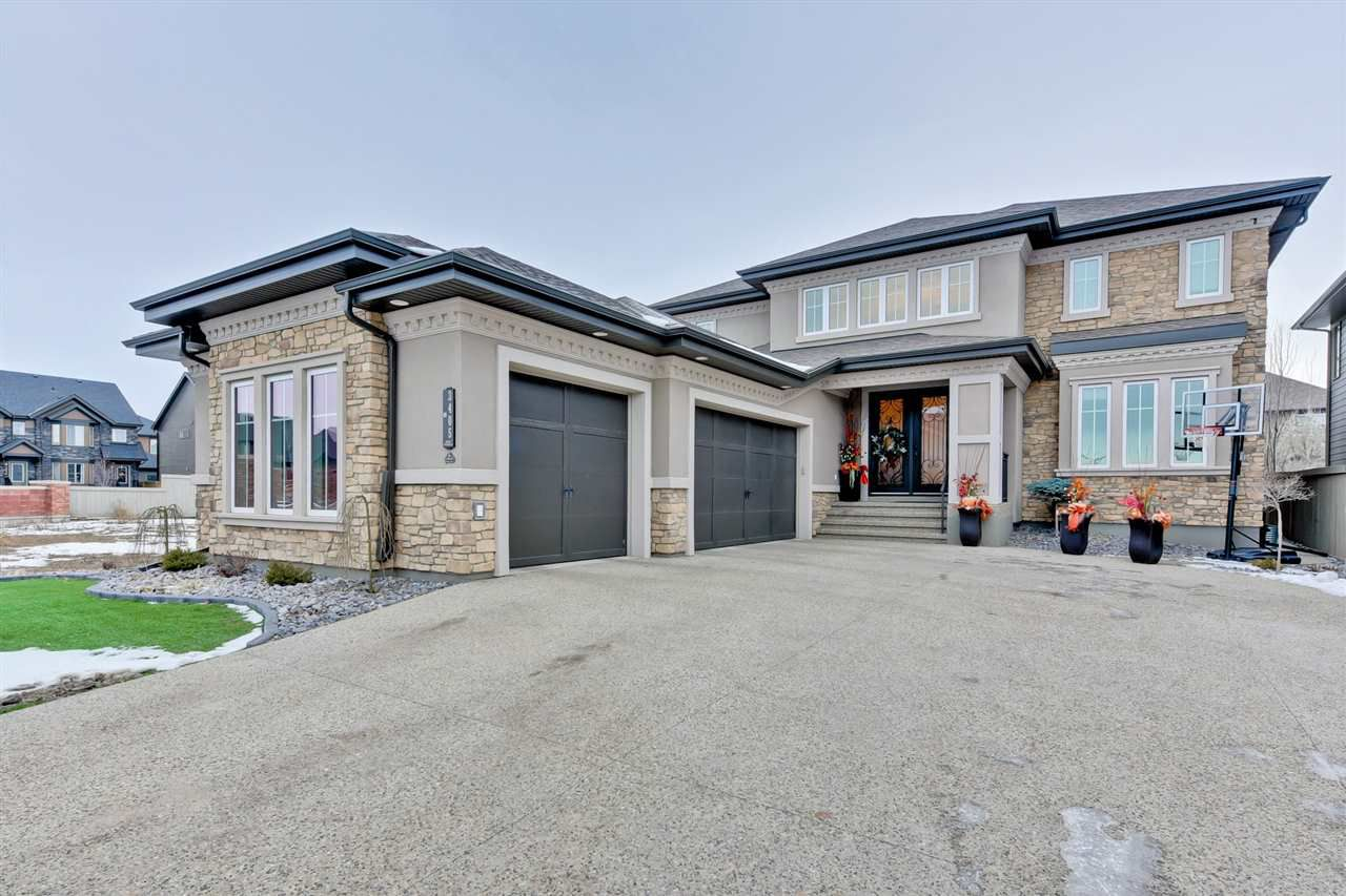Main Photo: 3405 KESWICK Boulevard in Edmonton: Zone 56 House for sale : MLS®# E4137314