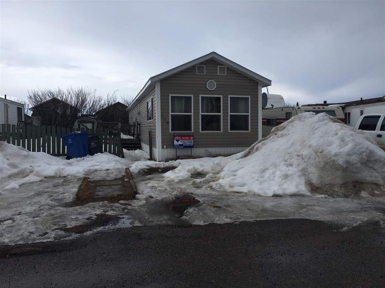 Main Photo: 110 8420 ALASKA Road in Fort St. John: Fort St. John - City SE Manufactured Home for sale (Fort St. John (Zone 60))  : MLS®# R2330389