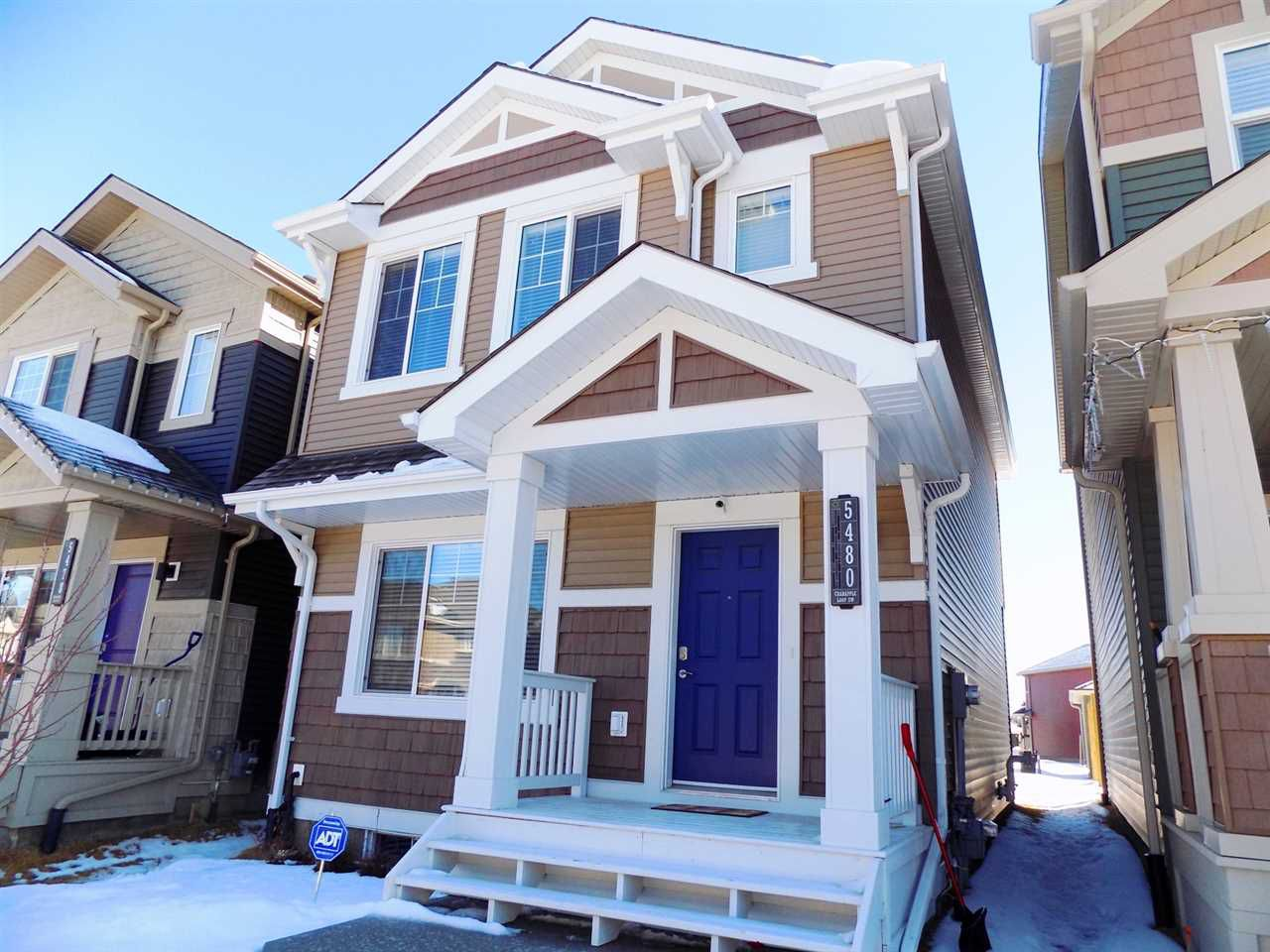 Main Photo: 5480 CRABAPPLE Loop SW in Edmonton: Zone 53 House for sale : MLS®# E4143686