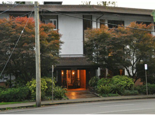 "Main Photo: 102 15020 N BLUFF Road: White Rock Condo for sale in ""NORTH BLUFF VILLAGE"" (South Surrey White Rock)  : MLS®# F1402775"