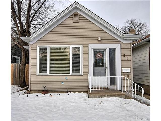 Main Photo: 53 Harrowby Avenue in Winnipeg: St Vital Residential for sale (2D)  : MLS®# 1703965