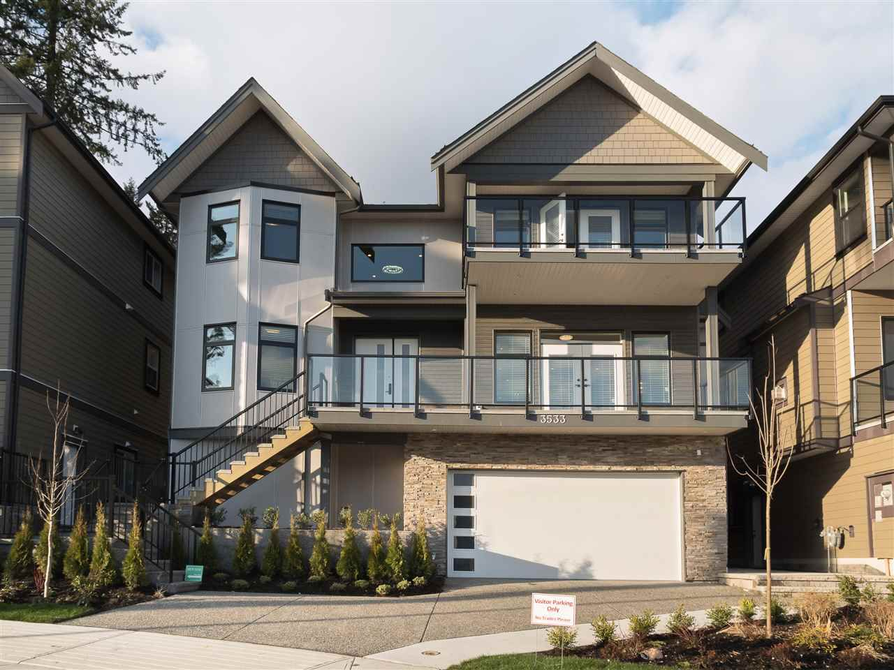 "Main Photo: 3537 ARCHWORTH Avenue in Coquitlam: Burke Mountain House for sale in ""PARTINGTON"" : MLS®# R2222585"