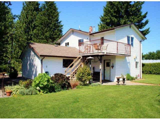 Main Photo: 28442 58TH AVENUE in : Bradner House for sale (Abbotsford)  : MLS®# F1301323