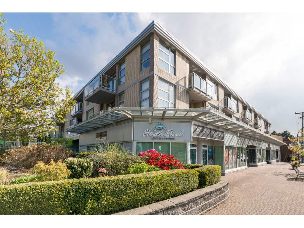 "Main Photo: 302 15777 MARINE Drive: White Rock Condo for sale in ""South Beach"" (South Surrey White Rock)  : MLS®# R2263193"