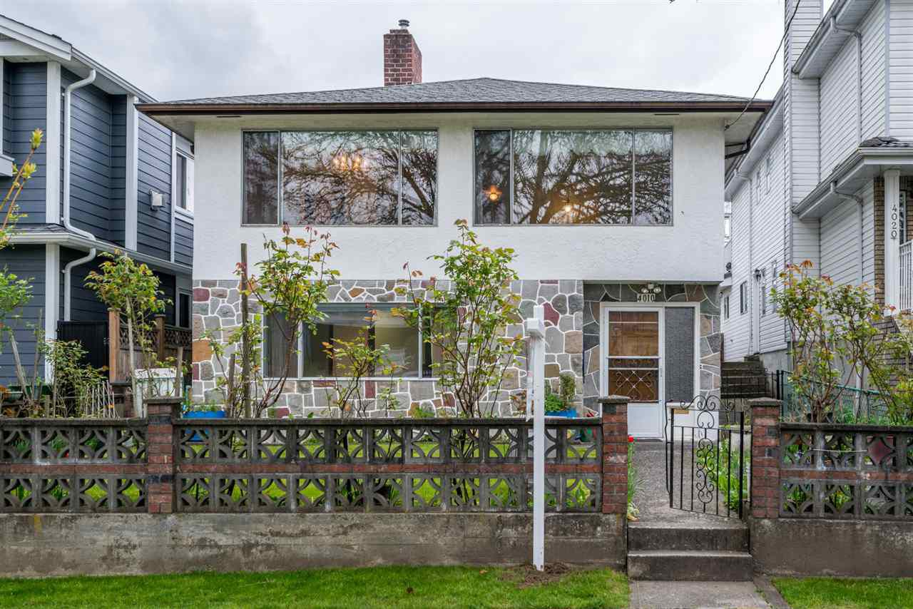 """Main Photo: 4010 BEATRICE Street in Vancouver: Victoria VE House for sale in """"Cedar Cottage / Victoria"""" (Vancouver East)  : MLS®# R2265481"""