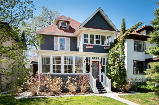 Main Photo: 168 Chestnut Street in Winnipeg: Wolseley Residential for sale (5B)  : MLS®# 1811404