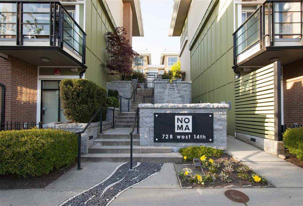 """Main Photo: 80 728 W 14TH Street in North Vancouver: Hamilton Townhouse for sale in """"NOMA"""" : MLS®# R2325413"""
