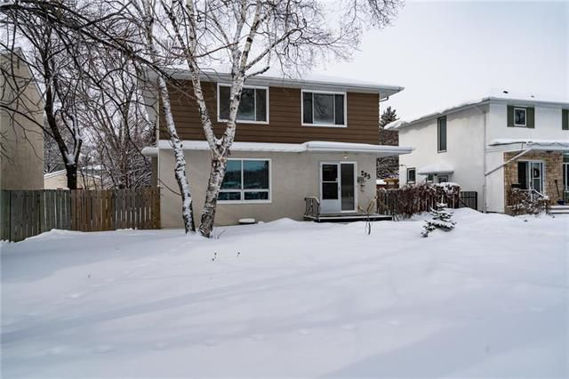 Exterior front- Directly across Carpathia School field  and Hodgson Park wading pool..