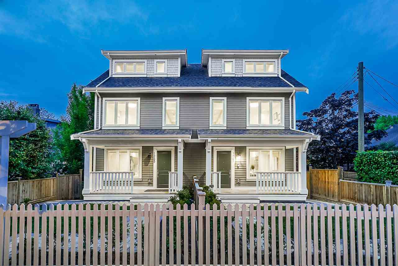 Main Photo: 1267 E 20TH Avenue in Vancouver: Knight House 1/2 Duplex for sale (Vancouver East)  : MLS®# R2374305