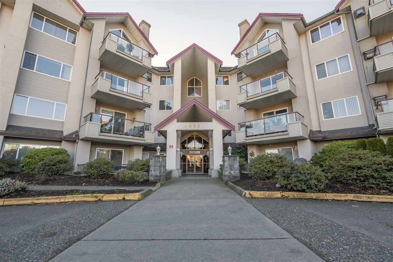 "Main Photo: 415 45520 KNIGHT Road in Sardis: Sardis West Vedder Rd Condo for sale in ""MORNINGSIDE"" : MLS®# R2379253"