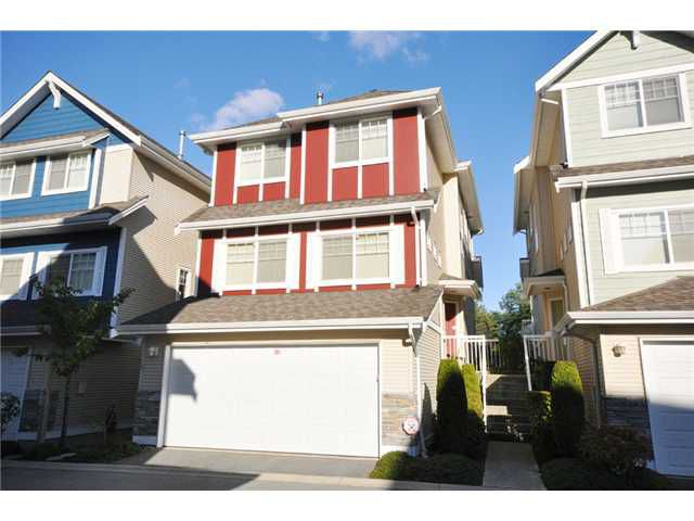 Photo 1: Photos: 15 1108 Riverside Close in Port Coquitlam: Riverwood Townhouse for sale : MLS®#  V851540