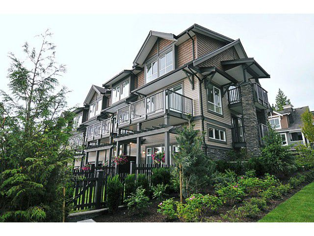 "Main Photo: 119 1480 SOUTHVIEW Street in Coquitlam: Burke Mountain Townhouse for sale in ""CEDAR CREEK"" : MLS®# V1045909"