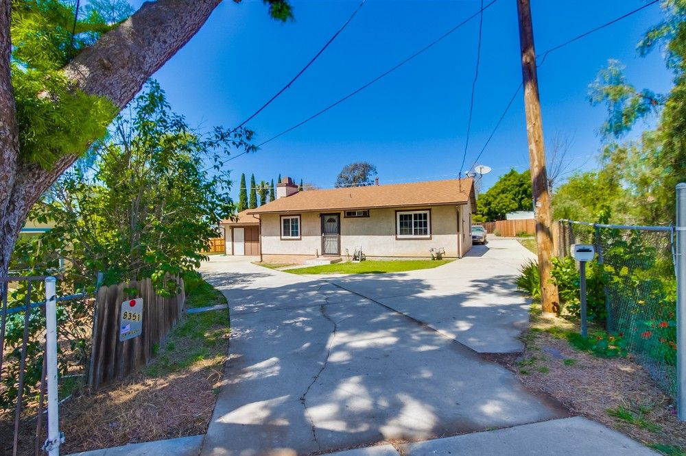 Main Photo: LEMON GROVE House for sale : 2 bedrooms : 8351 Golden Ave