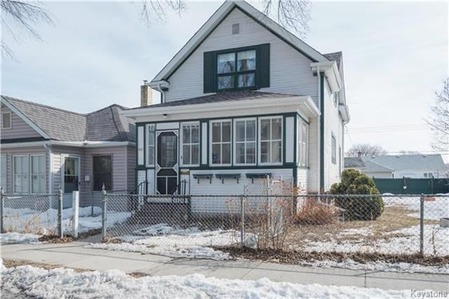 Main Photo: 891 Ashburn Street in Winnipeg: West End Residential for sale (5C)  : MLS®# 1807691