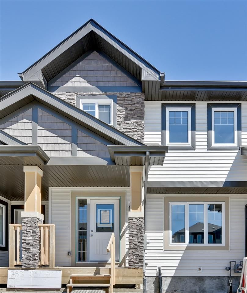Main Photo: 1255 163 Street in Edmonton: Zone 56 Attached Home for sale : MLS®# E4120612