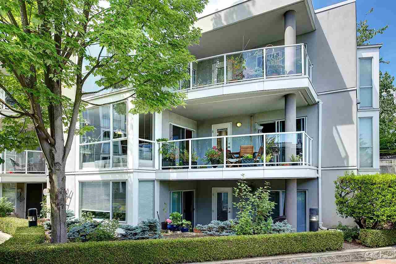 "Main Photo: 212 8460 JELLICOE Street in Vancouver: Fraserview VE Condo for sale in ""BOARDWALK"" (Vancouver East)  : MLS®# R2292692"