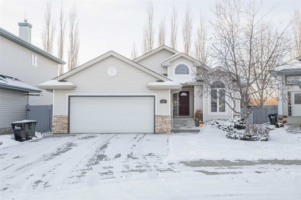 Main Photo: 40 HERITAGE LAKE Way: Sherwood Park House for sale : MLS®# E4135460