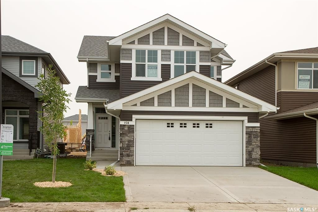 Main Photo: 158 Dagnone Lane in Saskatoon: Brighton Residential for sale : MLS®# SK754571