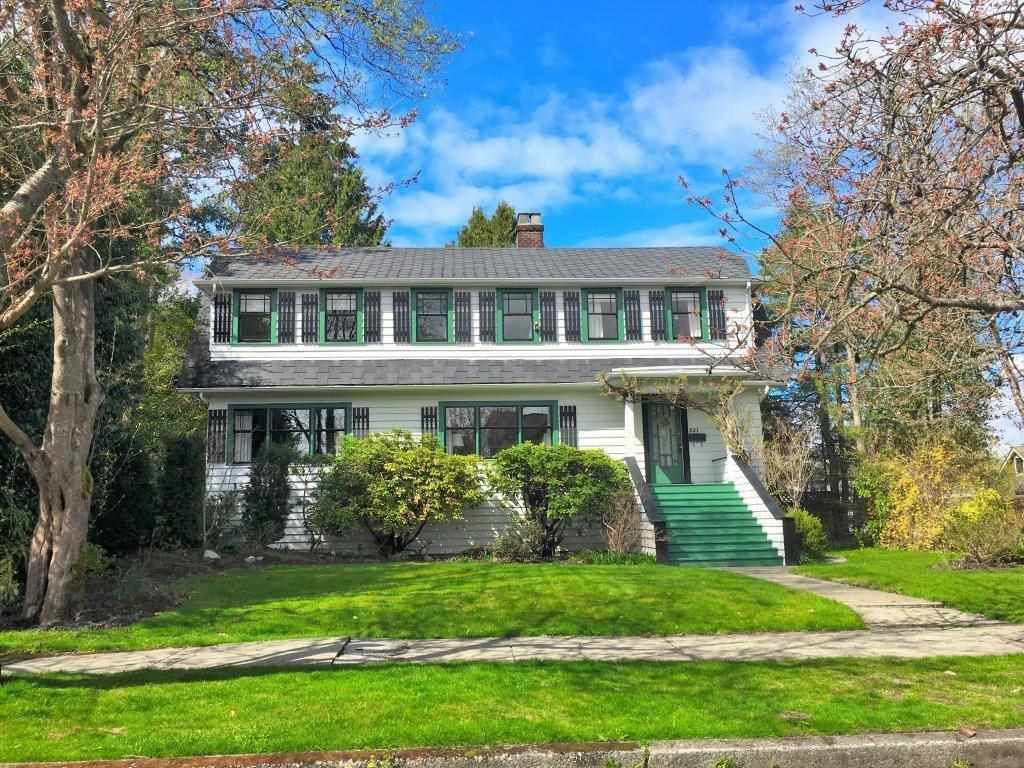 Main Photo: 221 ST. PATRICK Street in New Westminster: Queens Park House for sale : MLS®# R2359081