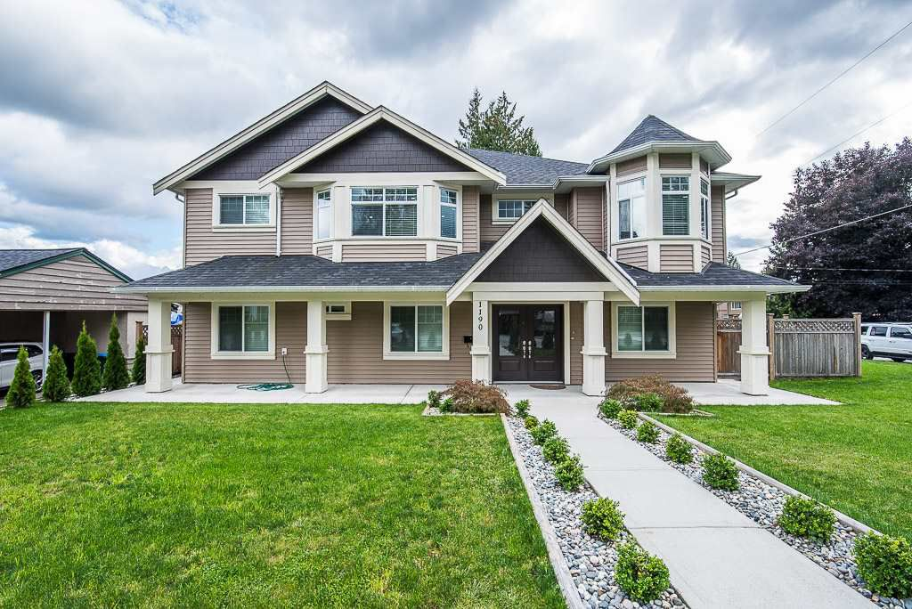 Main Photo: 1190 PRAIRIE Avenue in Port Coquitlam: Birchland Manor House for sale : MLS®# R2359993