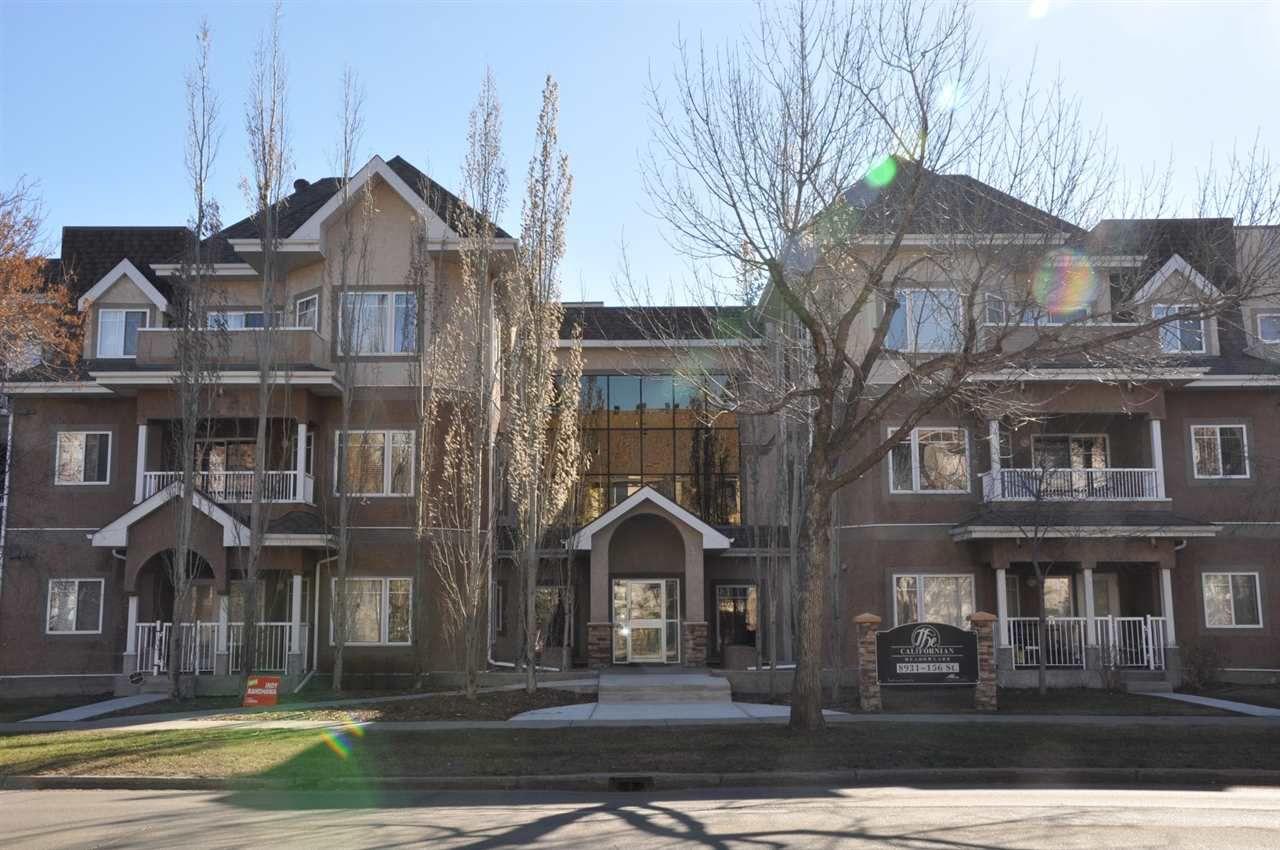 Main Photo: 305 8931 156 Street in Edmonton: Zone 22 Condo for sale : MLS®# E4160836