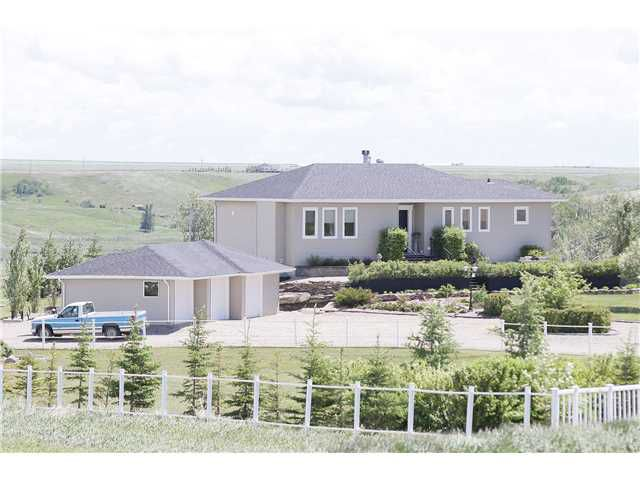 Main Photo: 29403 Rge Rd 292 in CARSTAIRS: Rural Mountain View County Residential Detached Single Family for sale : MLS®# C3620731