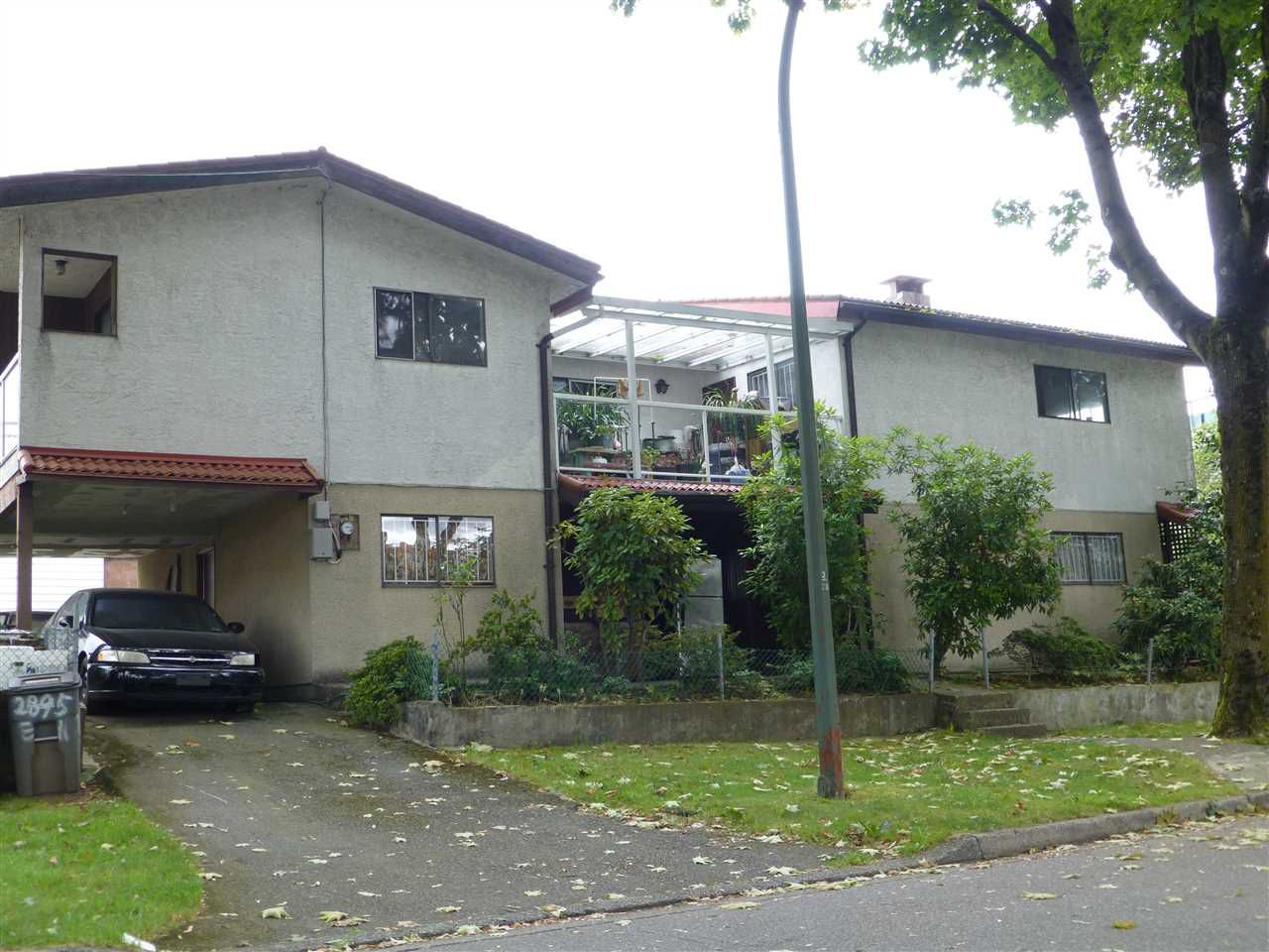 Main Photo: 2895 E 10TH Avenue in Vancouver: Renfrew VE House for sale (Vancouver East)  : MLS®# R2092387