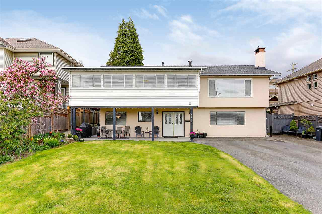 Main Photo: 1049 CHARLAND Avenue in Coquitlam: Central Coquitlam House for sale : MLS®# R2160194