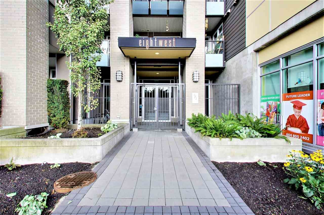 Main Photo: 316 55 EIGHTH AVENUE in New Westminster: GlenBrooke North Condo for sale : MLS®# R2211489