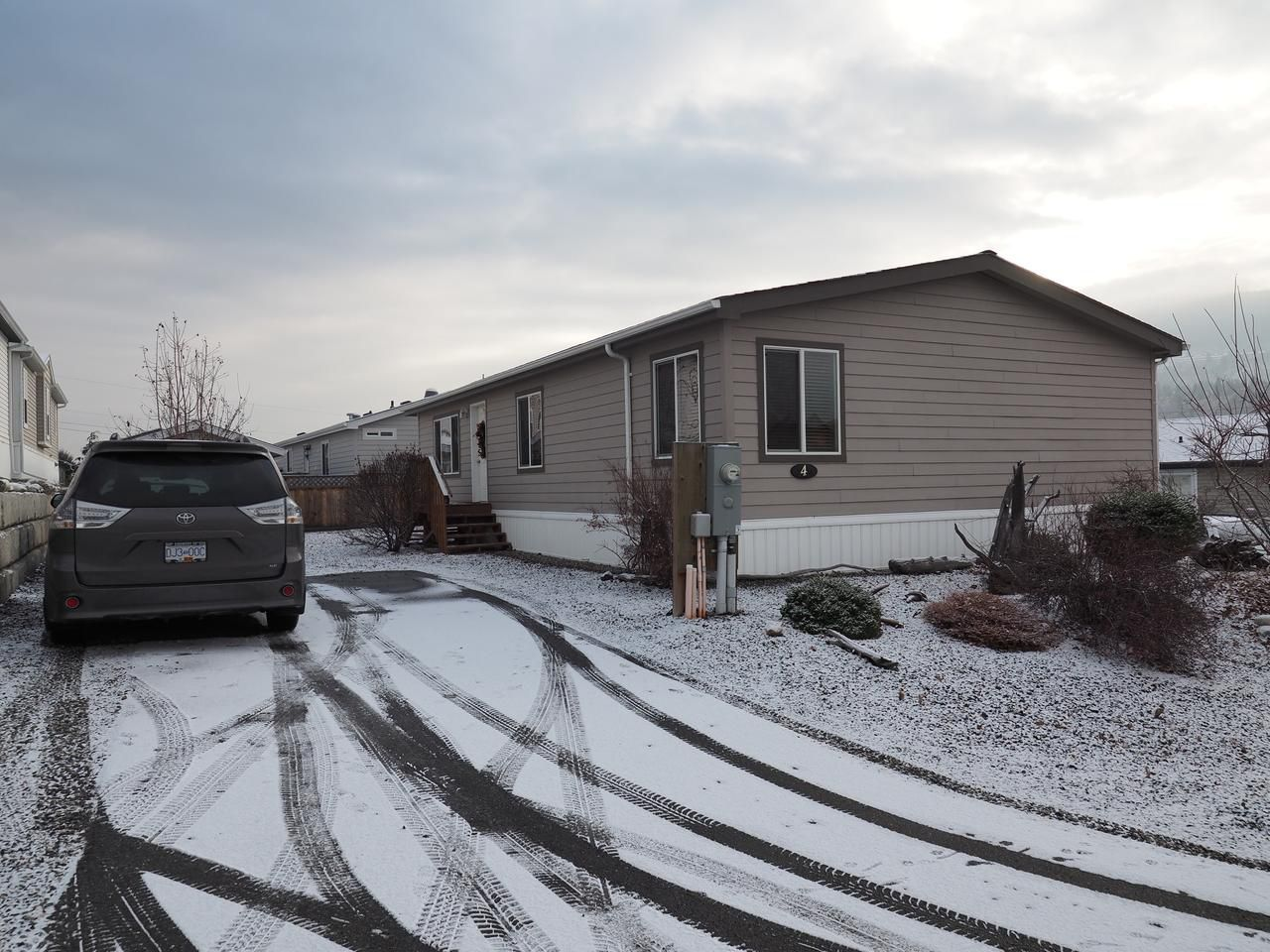 Main Photo: 4 768 E SHUSWAP ROAD in : South Thompson Valley Manufactured Home/Prefab for sale (Kamloops)  : MLS®# 143720