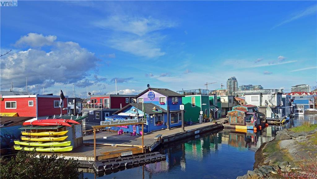 Main Photo: B 113 Superior Street in VICTORIA: Vi James Bay Townhouse for sale (Victoria)  : MLS®# 390569