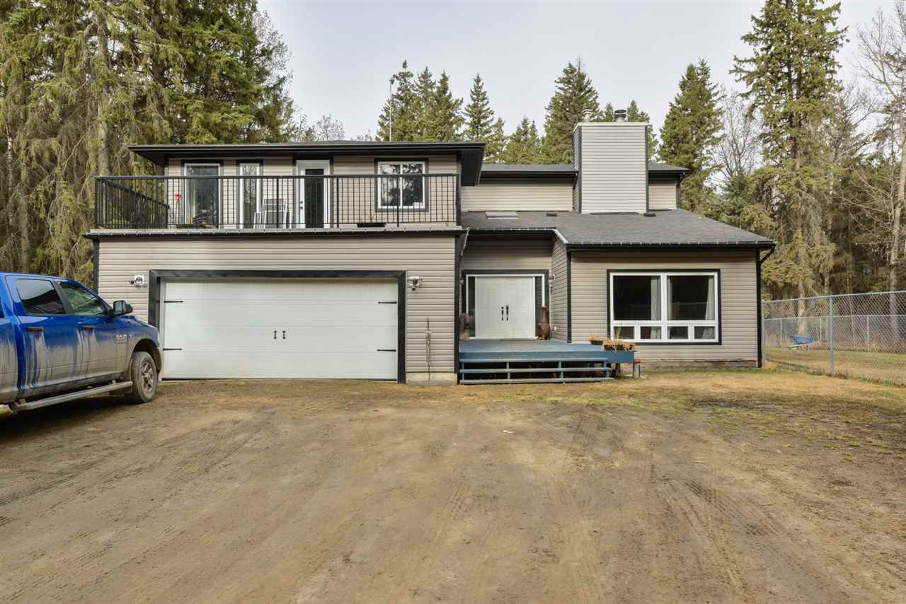 Main Photo: 22 52420 RGE RD 13: Rural Parkland County House for sale : MLS®# E4152841