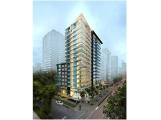 Main Photo: #1505 1009 Harwood St. (MODERN West End) Street in Vancouver: West End VW Condo  (Vancouver West)