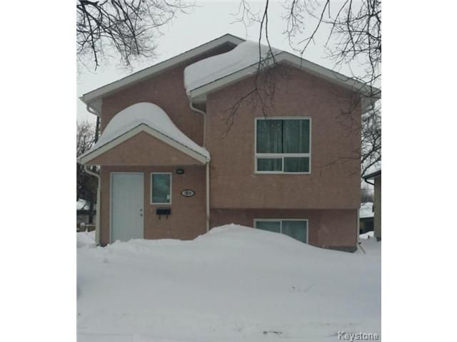 Main Photo: 266 COLLEGIATE Street in WINNIPEG: St James Residential for sale (West Winnipeg)  : MLS®# 1322823