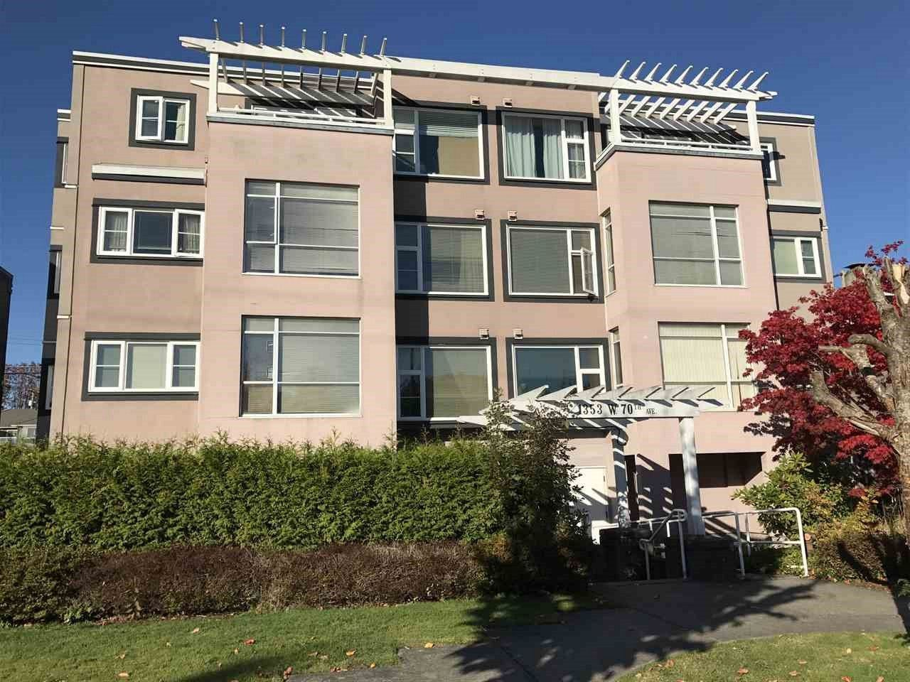 Main Photo: 304 1353 W 70TH Avenue in Vancouver: Marpole Condo for sale (Vancouver West)  : MLS®# R2217356