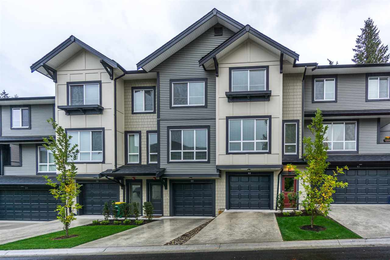 """Main Photo: 60 8570 204 Street in Langley: Willoughby Heights Townhouse for sale in """"WOODLAND PARK"""" : MLS®# R2225688"""