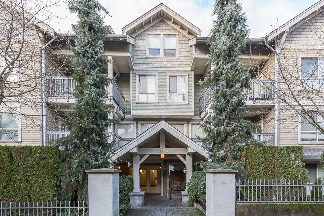 """Main Photo: 105 3895 SANDELL Street in Burnaby: Central Park BS Condo for sale in """"CLARKE HOUSE"""" (Burnaby South)  : MLS®# R2233846"""