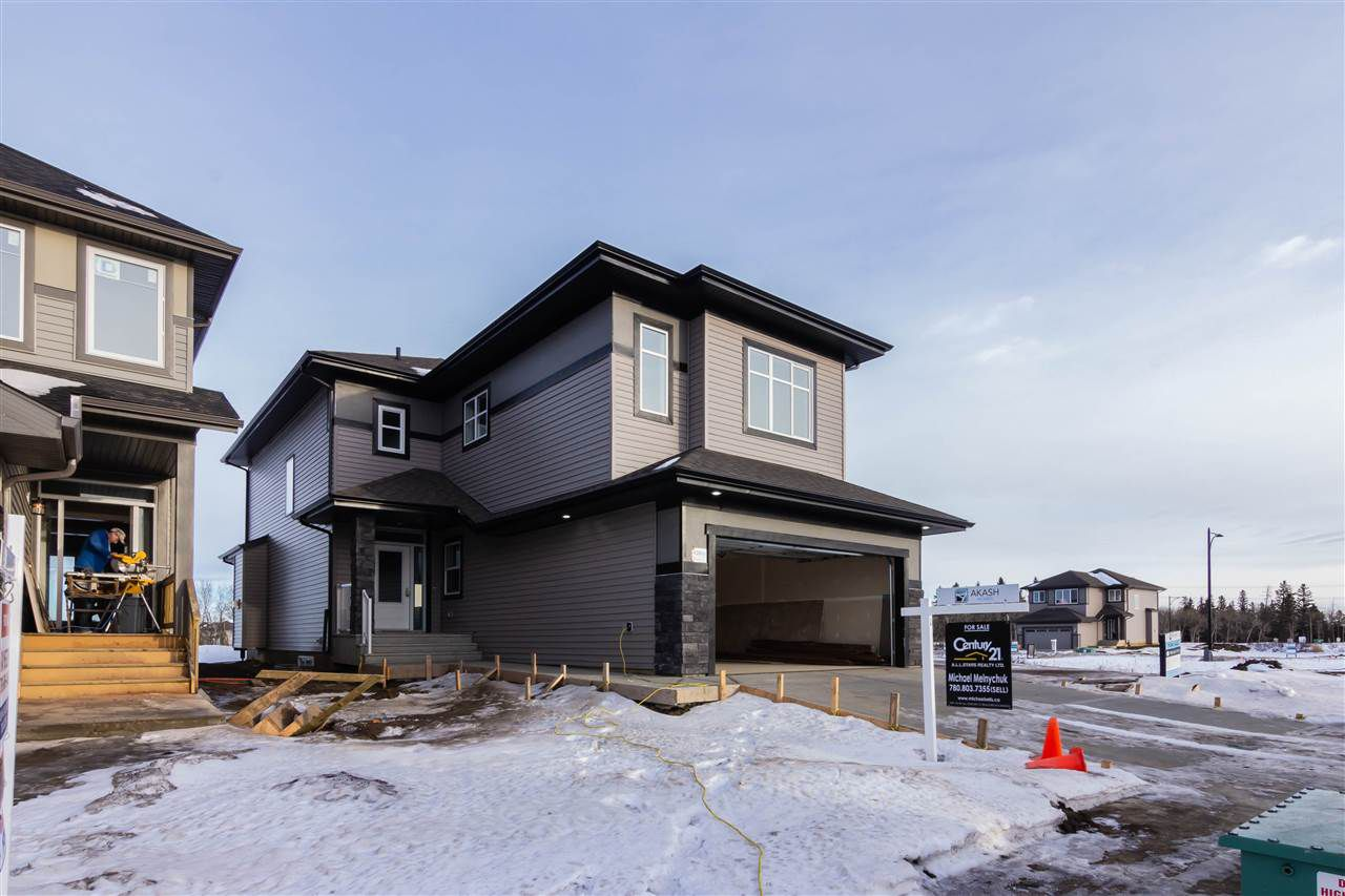 Main Photo: 428 Edgemont Road in Edmonton: Zone 57 House for sale : MLS®# E4133538