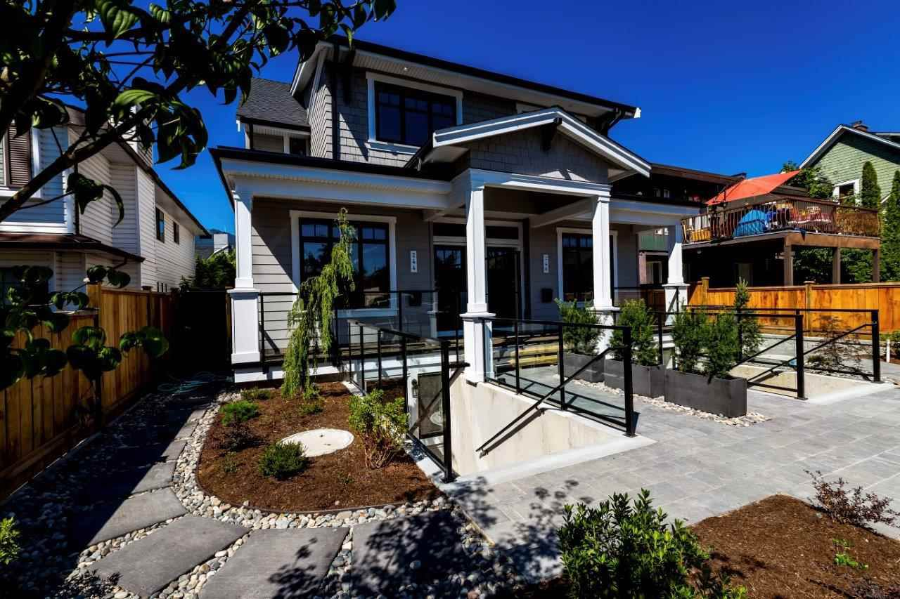 Main Photo: 244 E 18TH Street in North Vancouver: Central Lonsdale House 1/2 Duplex for sale : MLS®# R2337160