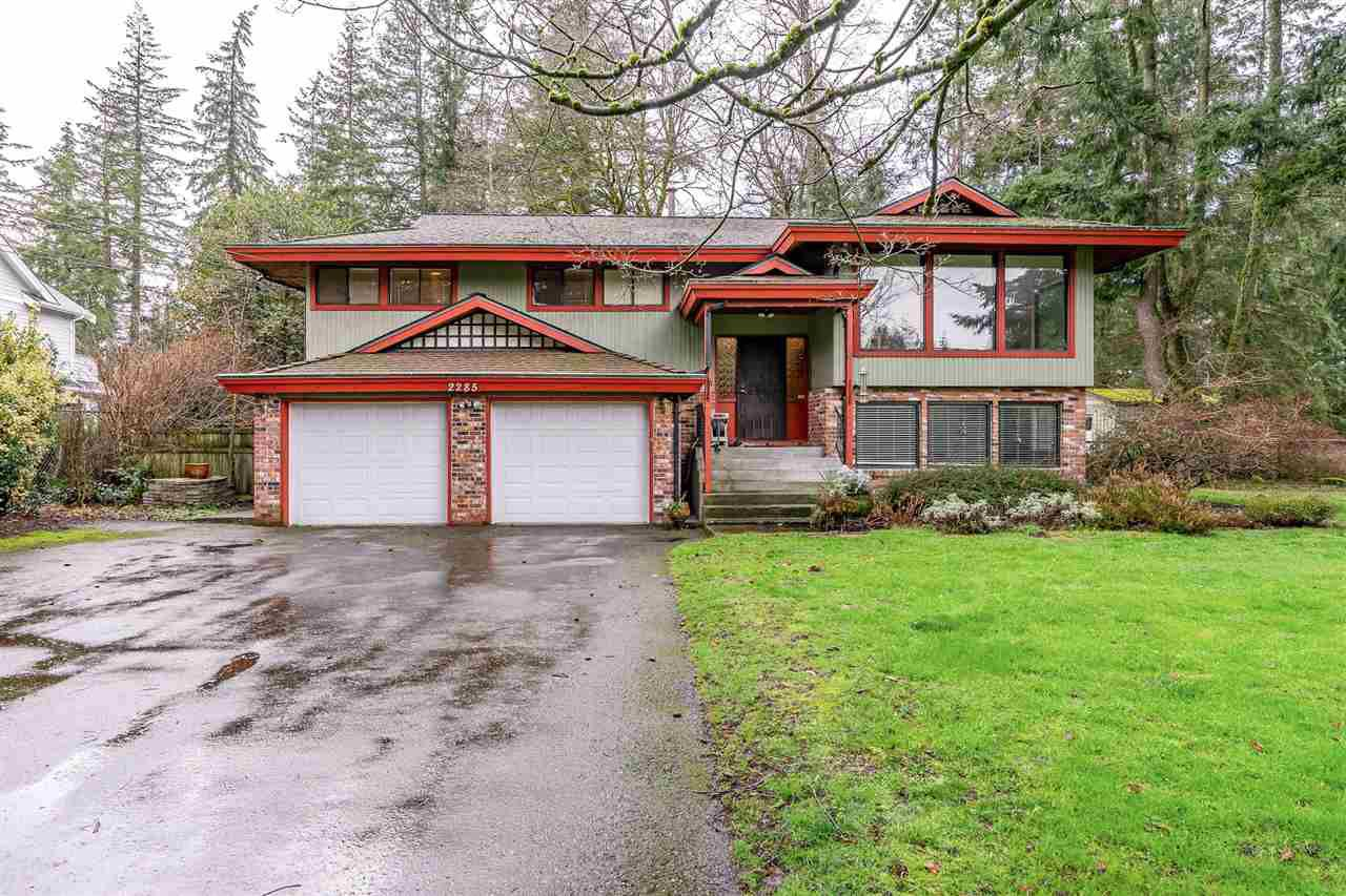 Main Photo: 2285 173 Street in Surrey: Pacific Douglas House for sale (South Surrey White Rock)  : MLS®# R2366158