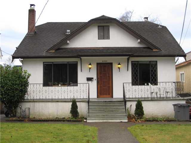 Main Photo: 2426 W 5TH Avenue in Vancouver: Kitsilano House for sale (Vancouver West)  : MLS®# V923129