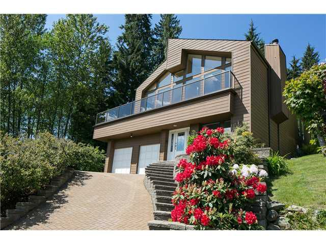 Main Photo: 2177 BADGER Road in North Vancouver: Deep Cove House for sale : MLS®# V952545