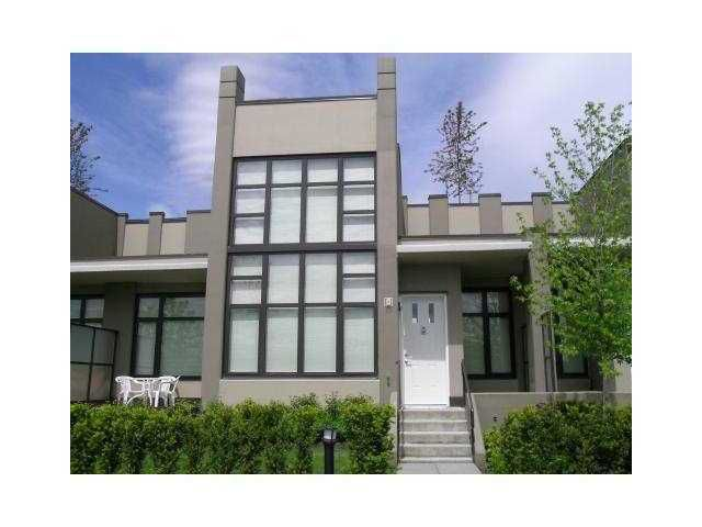 Main Photo: TH14 2355 MADISON Avenue in Burnaby: Brentwood Park Condo for sale (Burnaby North)  : MLS®# V994675