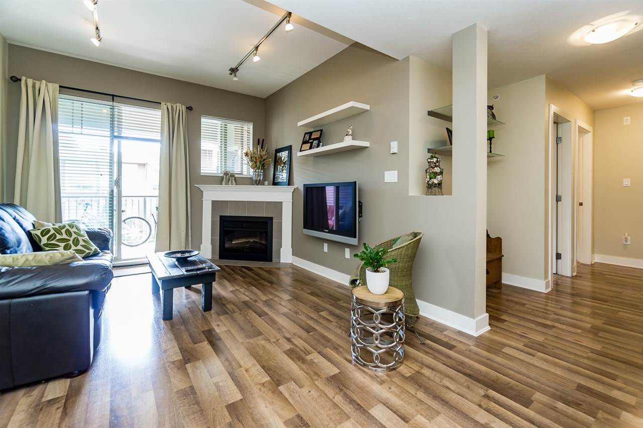 """Main Photo: 411 2468 ATKINS Avenue in Port Coquitlam: Central Pt Coquitlam Condo for sale in """"THE BORDEAUX"""" : MLS®# R2062681"""