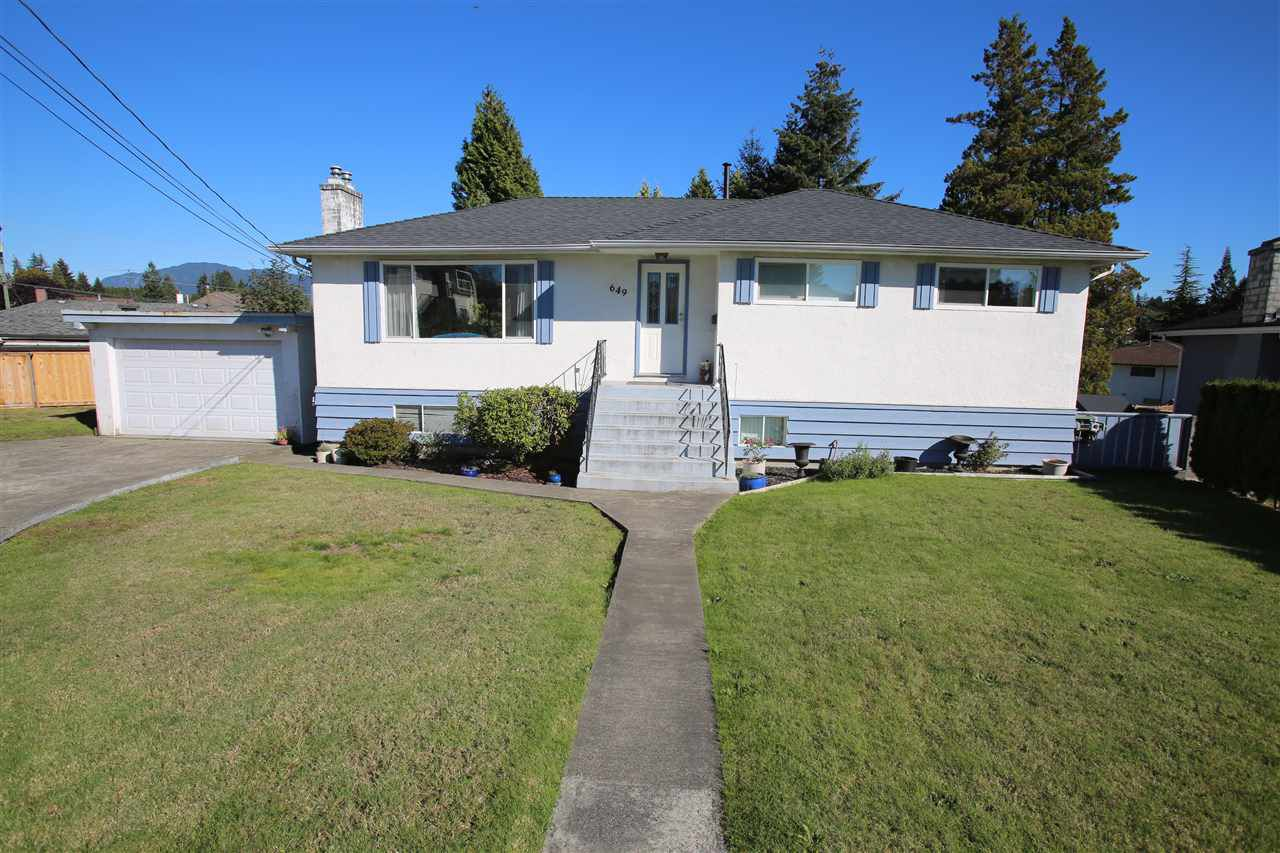 Photo 1: Photos: 649 DENVER Court in Coquitlam: Central Coquitlam House for sale : MLS®# R2116513
