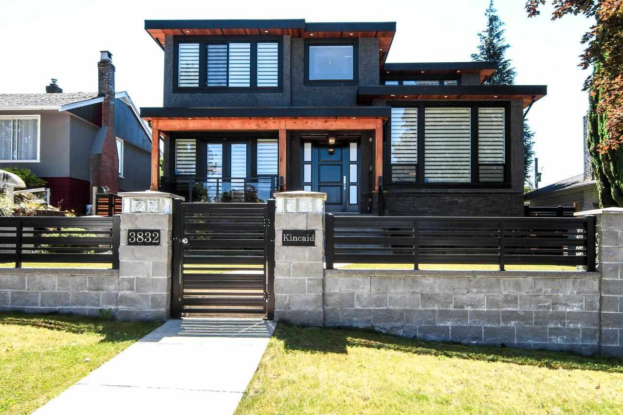 Fully gated and fenced, Cedar Soffits & Custom Cedar Woodwork, Granite stairs & Veranda, Rock Stucco