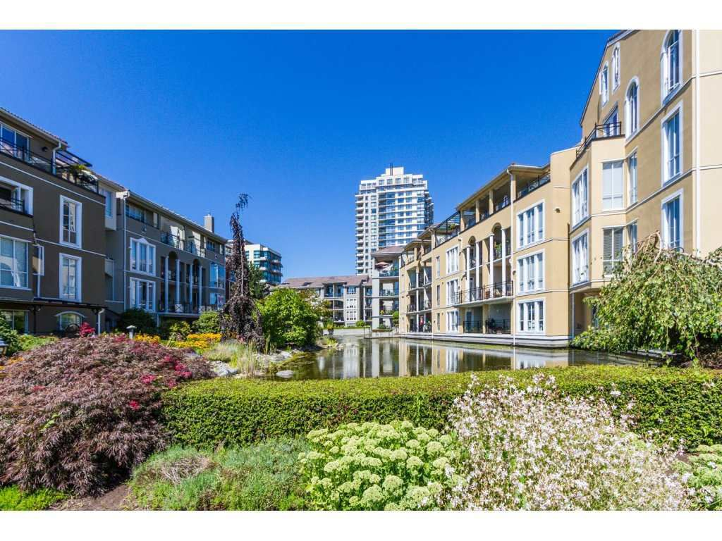 "Main Photo: 409 3 RENAISSANCE Square in New Westminster: Quay Condo for sale in ""THE LIDO"" : MLS®# R2148521"