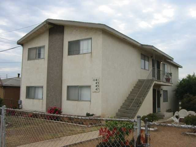 Main Photo: LOGAN HEIGHTS Apartment for rent : 2 bedrooms : 1145 S 36th Street in San Diego
