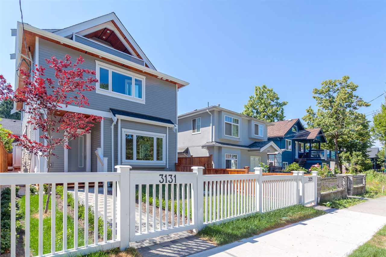 Main Photo: 3131 VICTORIA Drive in Vancouver: Grandview VE House 1/2 Duplex for sale (Vancouver East)  : MLS®# R2201994