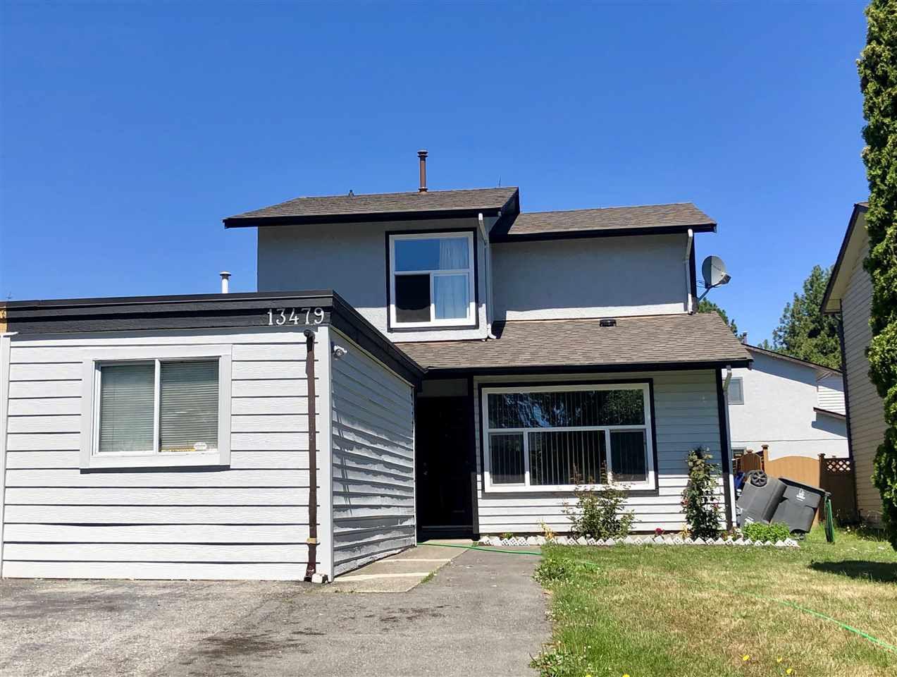Main Photo: 13479 69 Avenue in Surrey: West Newton House 1/2 Duplex for sale : MLS®# R2307213